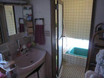 洗面所、浴室施工前